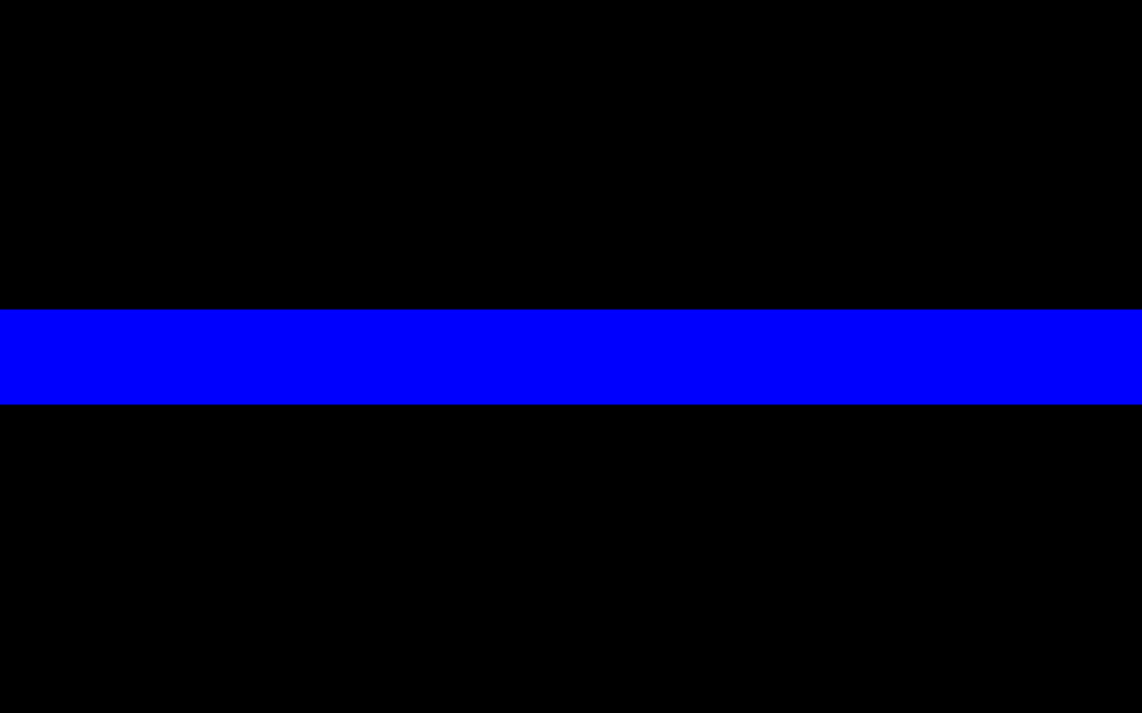 Thin Blue Line Patches