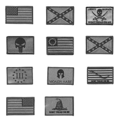 Front Tactical Patch Options