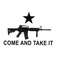 AR-15 Come and Take It Vinyl Stickers