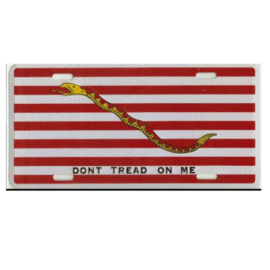 1st Navy Jack DTOM License Plate