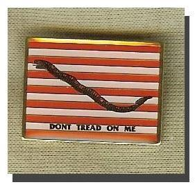 1st US Navy Jack Lapel Pin