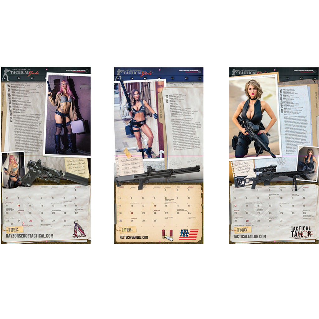 2020 Tactical Girls Calendar