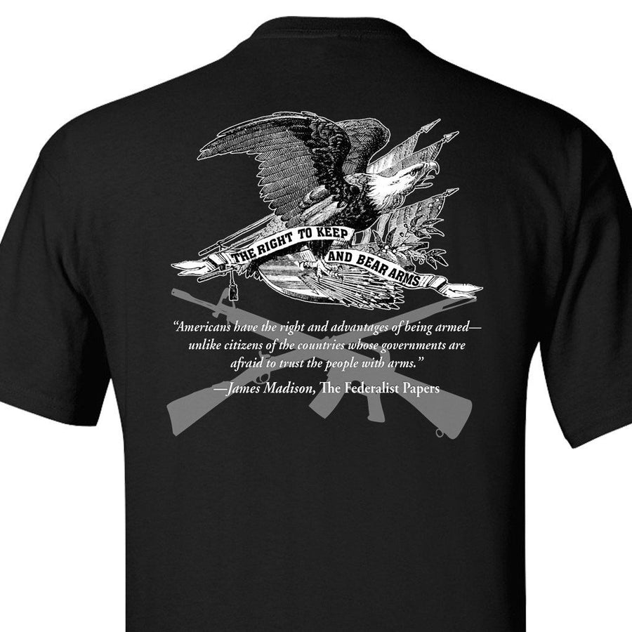 Right To Bear Arms Black T-Shirt