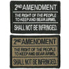 "2nd Amendment Tactical Patch 2""x3"""