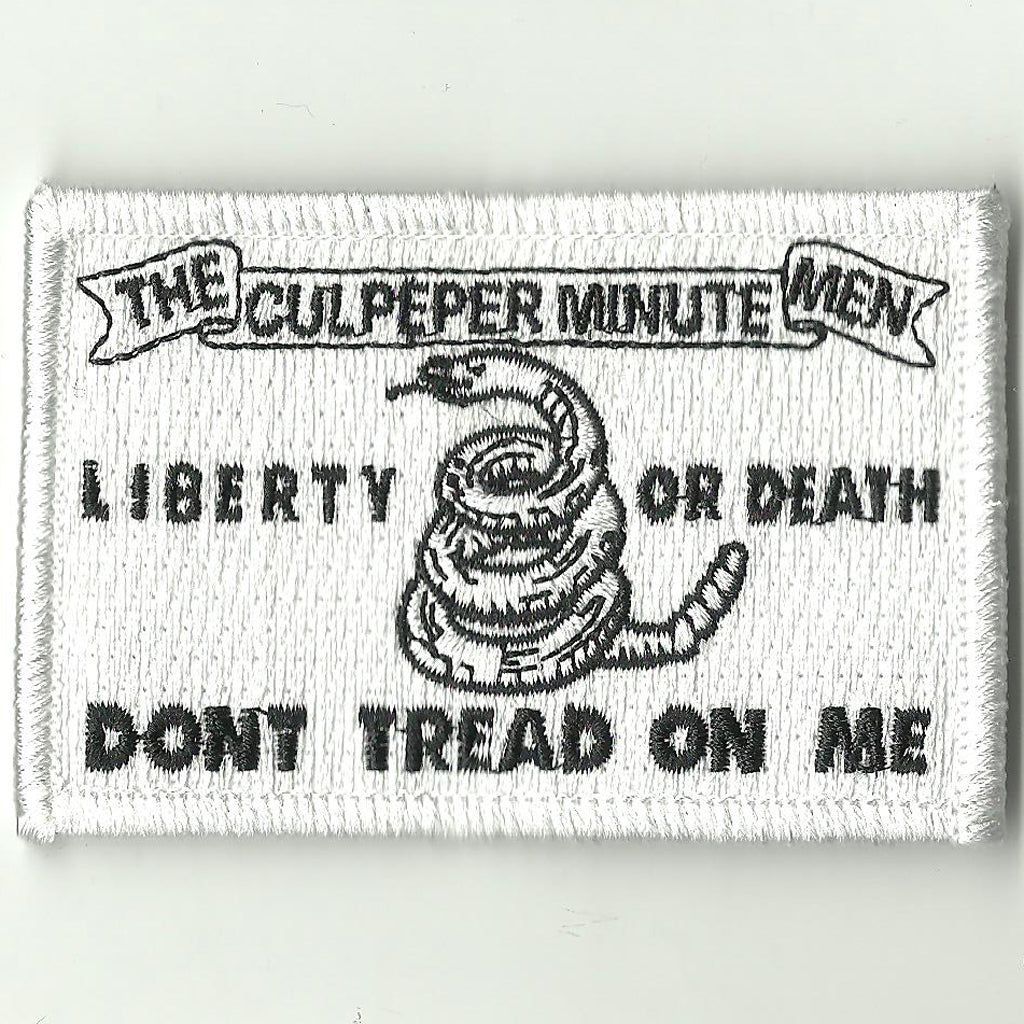 Culpeper Minute Men Historical Flag Patch