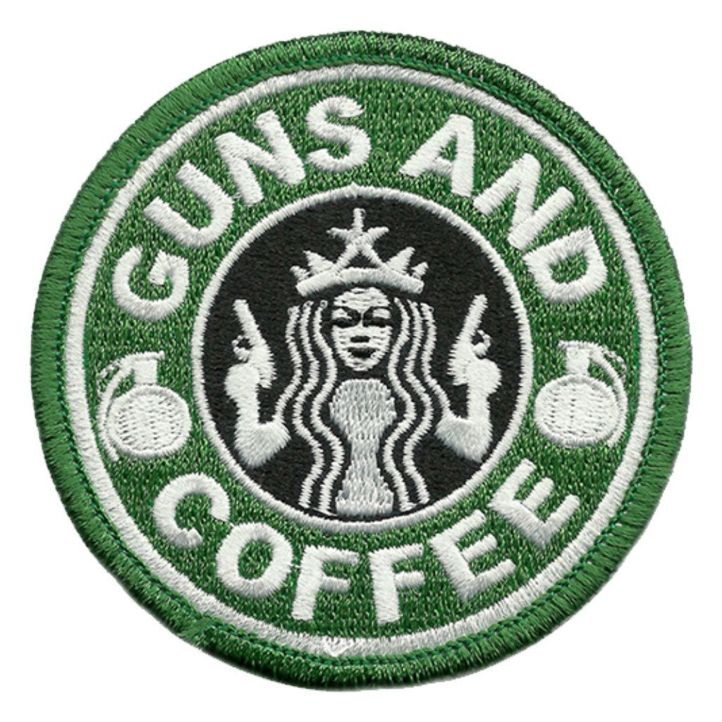"3"" Guns and Coffee Patch"
