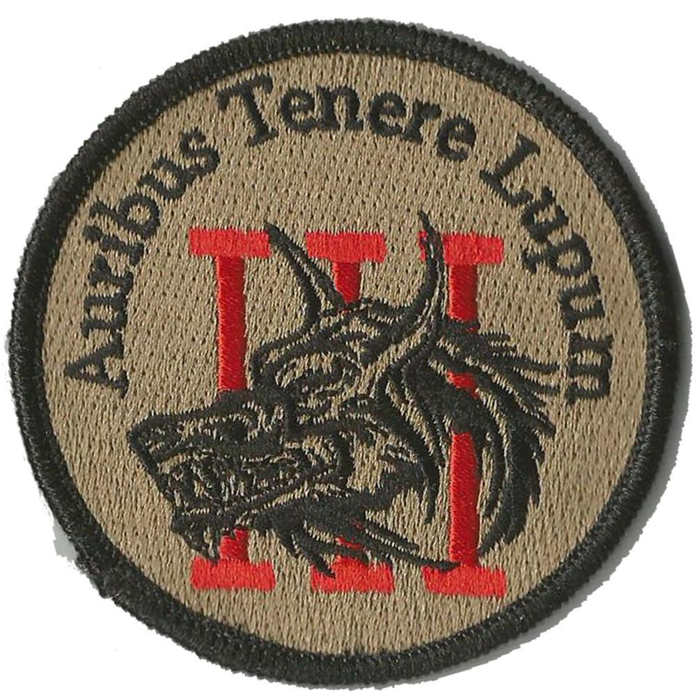 Threeper Wolf Circle patch