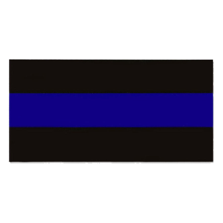 "4x8"" Thin Blue Line Sticker"