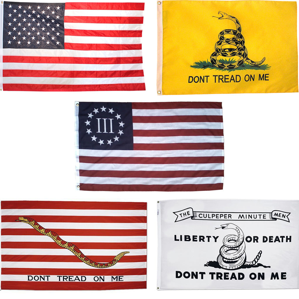 EPIC 5 Flag Set USA-Gad-Cul-NJ-Nyberg