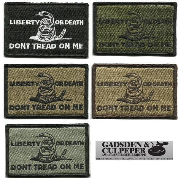 Culpeper Liberty Or Death Shoulder Patch - Iron-On