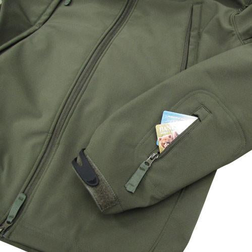 Condor Softshell Tactical Jackets - Coyote