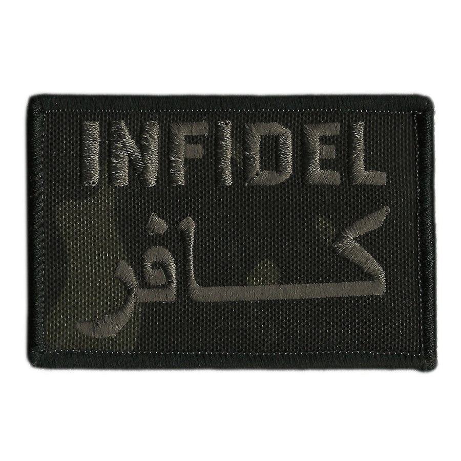 "MULTICAM-Black - Infidel Tactical Patch - 2"" x 3"""