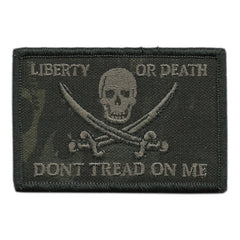 "MULTICAM-Black - Calico Jack Tactical Patch - 2""x3"""