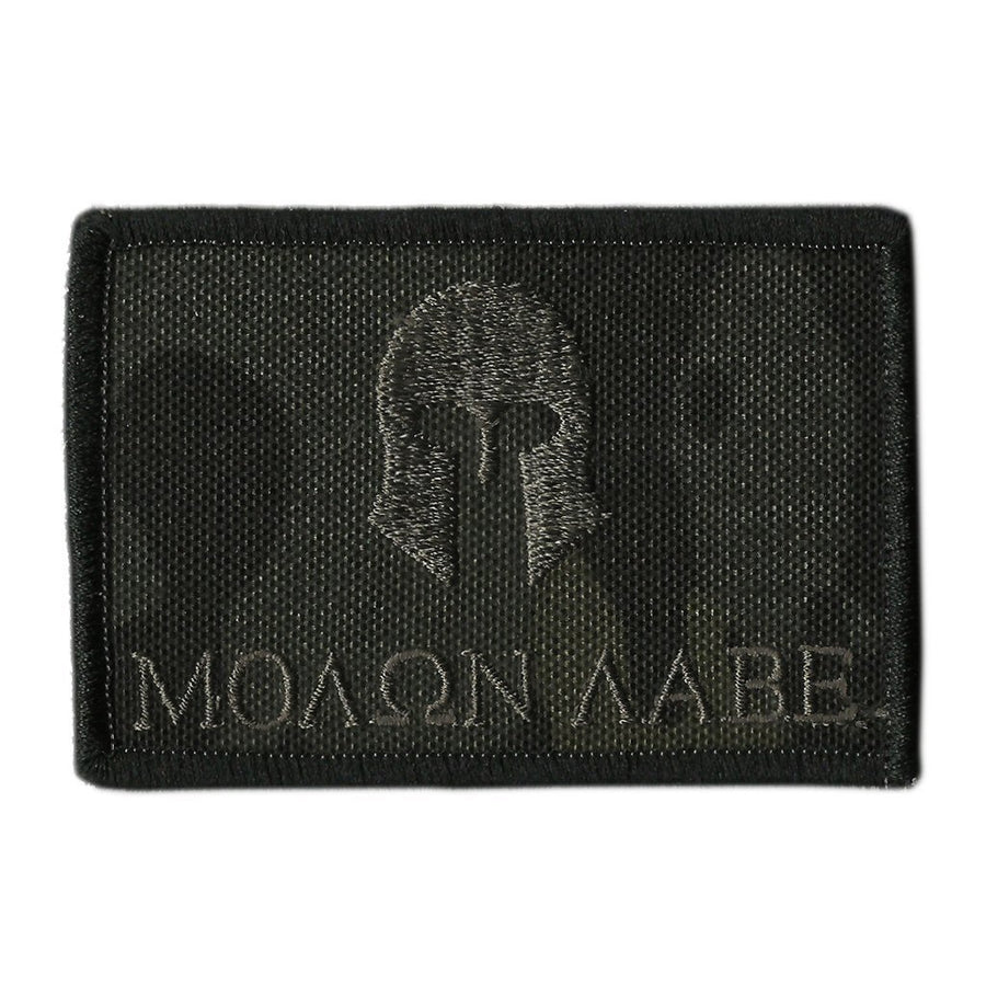 "MULTICAM-Black - Molon Labe Tactical Patch - 2"" x 3"""