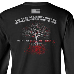 Blood of Tyrants Longsleeve T-Shirt - Black