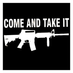 "Vinyl Come and Take It Decal - 5"" x 7"""