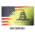 Gadsden USA Melt 3x5 Super Poly Flag