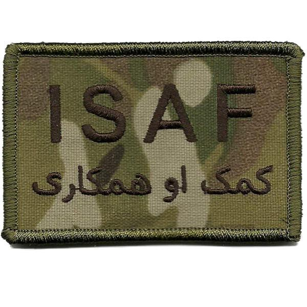 "MULTICAM - ISAF Tactical Patch - 2"" x 3"""