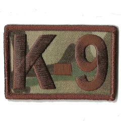 "MULTICAM - K-9 Tactical Patch - 2"" x 3"""