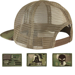 Trucker Mesh Tactical Caps - MULTICAM