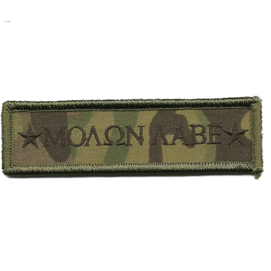 "MULTICAM - Molon Morale Patch - 1"" x 3 3/4"""