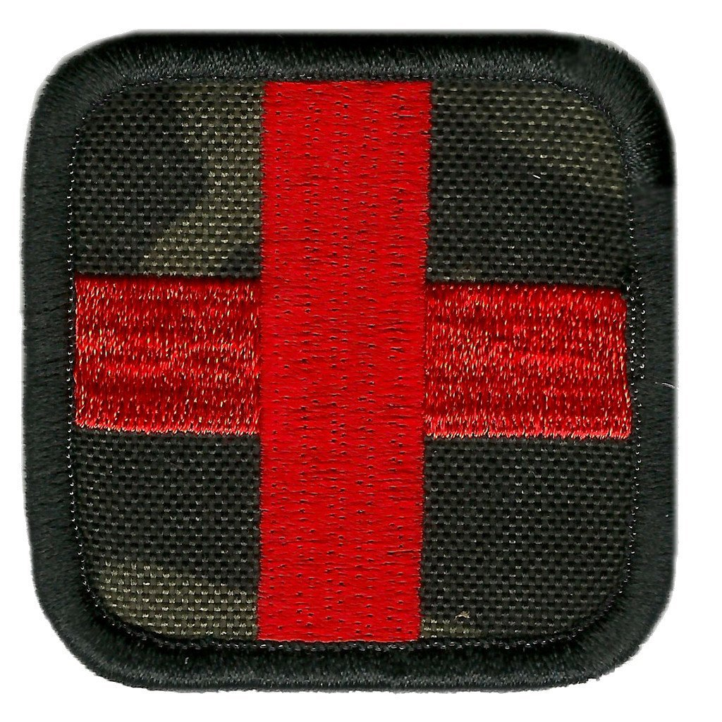 "MULTICAM-Black - Medic Cross - 2""x2"""