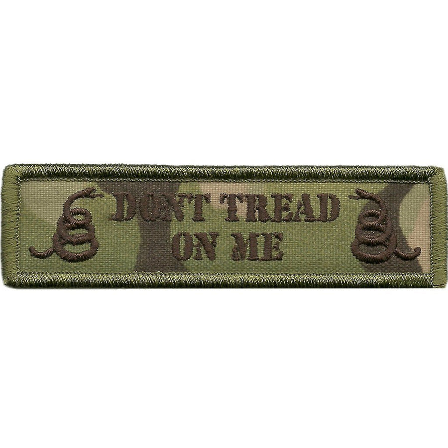 "MULTICAM - Dont Tread Morale Patch - 1"" x 3 3/4"""