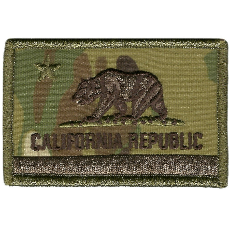 "MULTICAM - California Tactical Patch - 2"" x 3"""