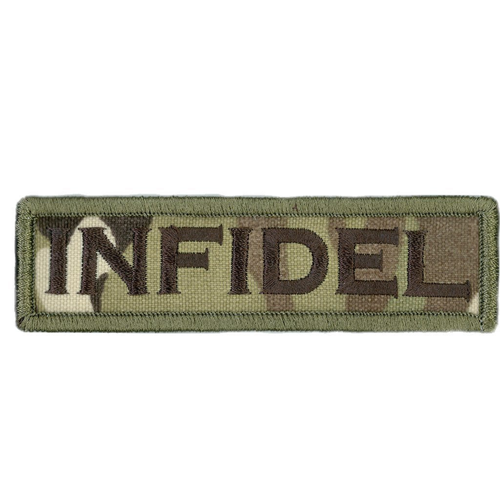 "MULTICAM - Infidel Morale Patch - 1"" x 3 3/4"""