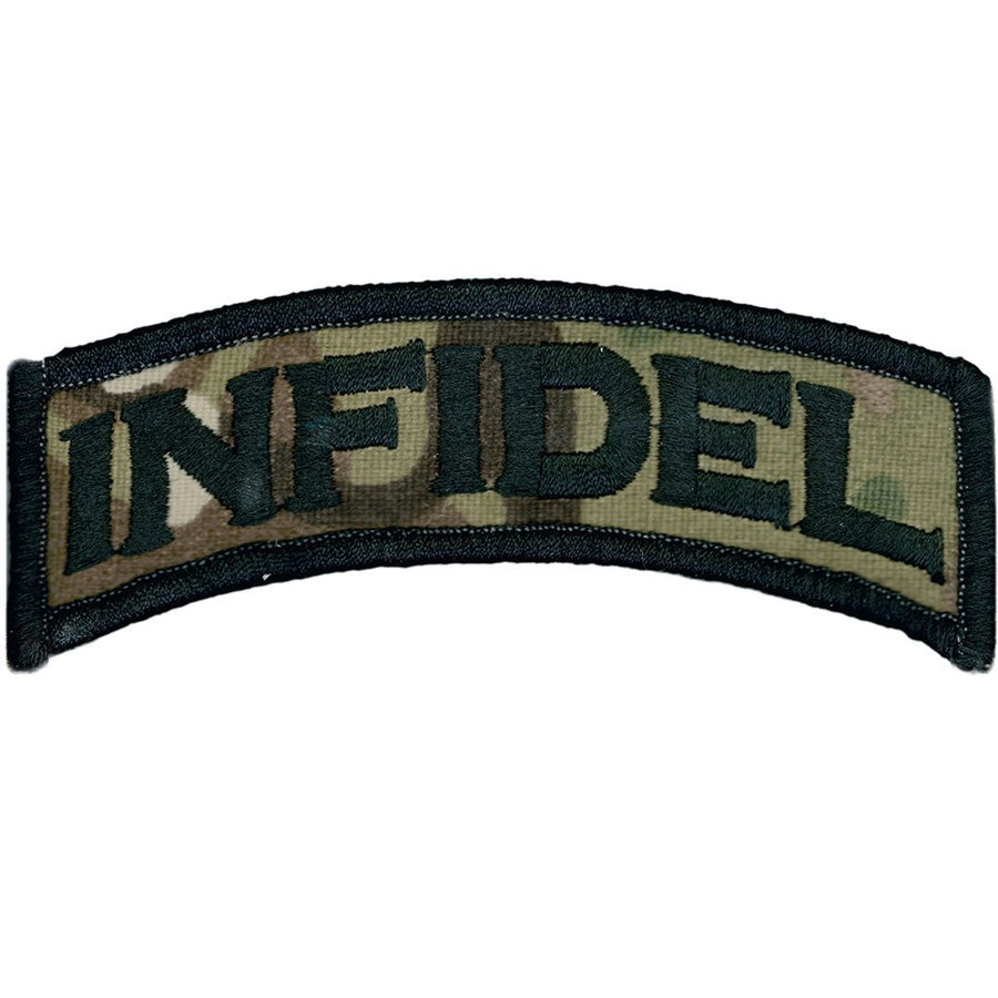 "MULTICAM - Infidel Morale Patch - Rocker - 1"" x 3 3/4"""