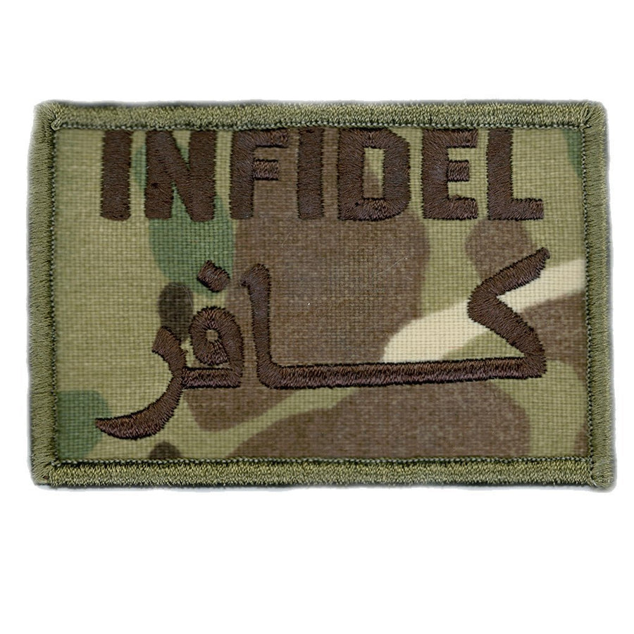 "MULTICAM - Infidel Tactical Patch - 2"" x 3"""