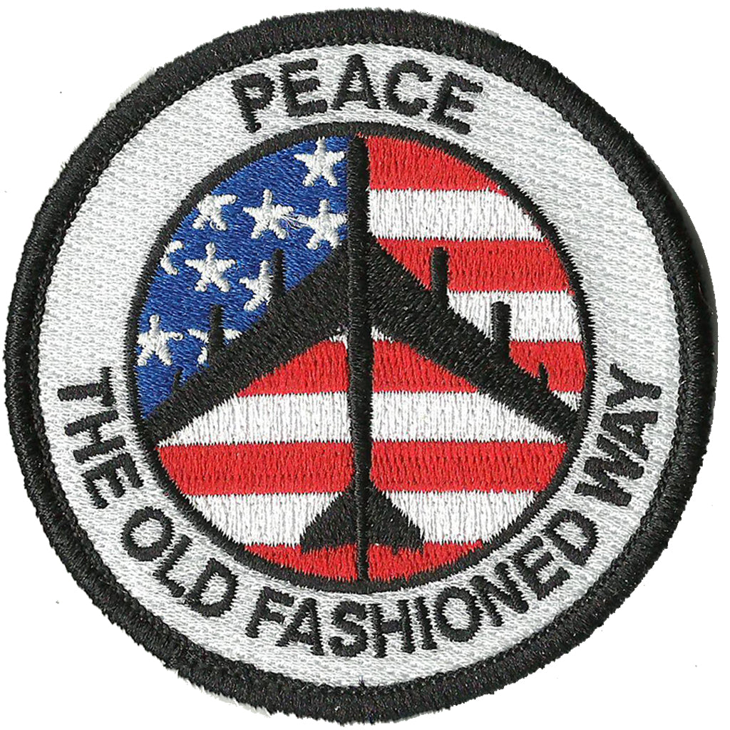 B-52 STRATOFORTRESS EMBROIDERED BADGE PATCH