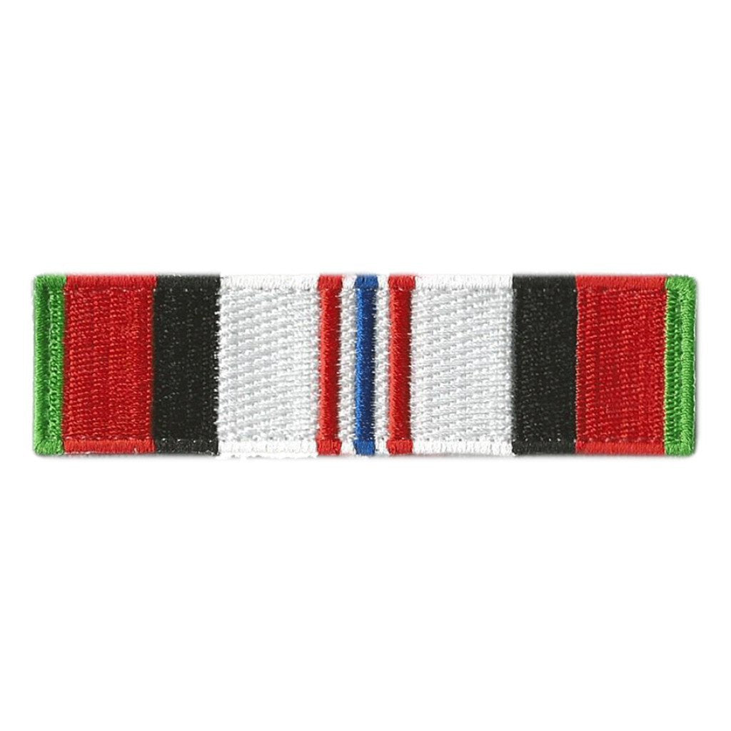 Afghanistan Service Ribbon Morale Patch