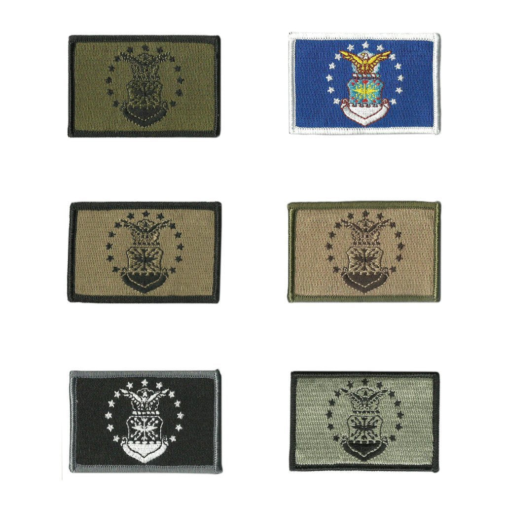 "2""x3"" Air Force Military Flag Tactical Hat Patches"