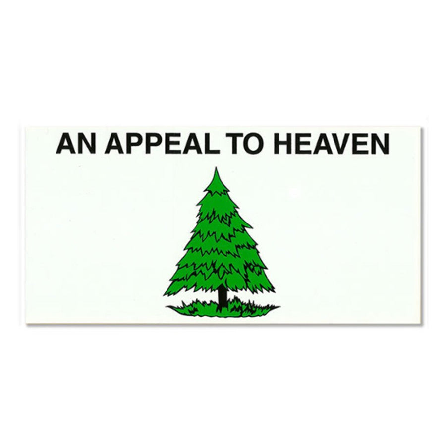 "Appeal to Heaven Sticker 4""x8"""