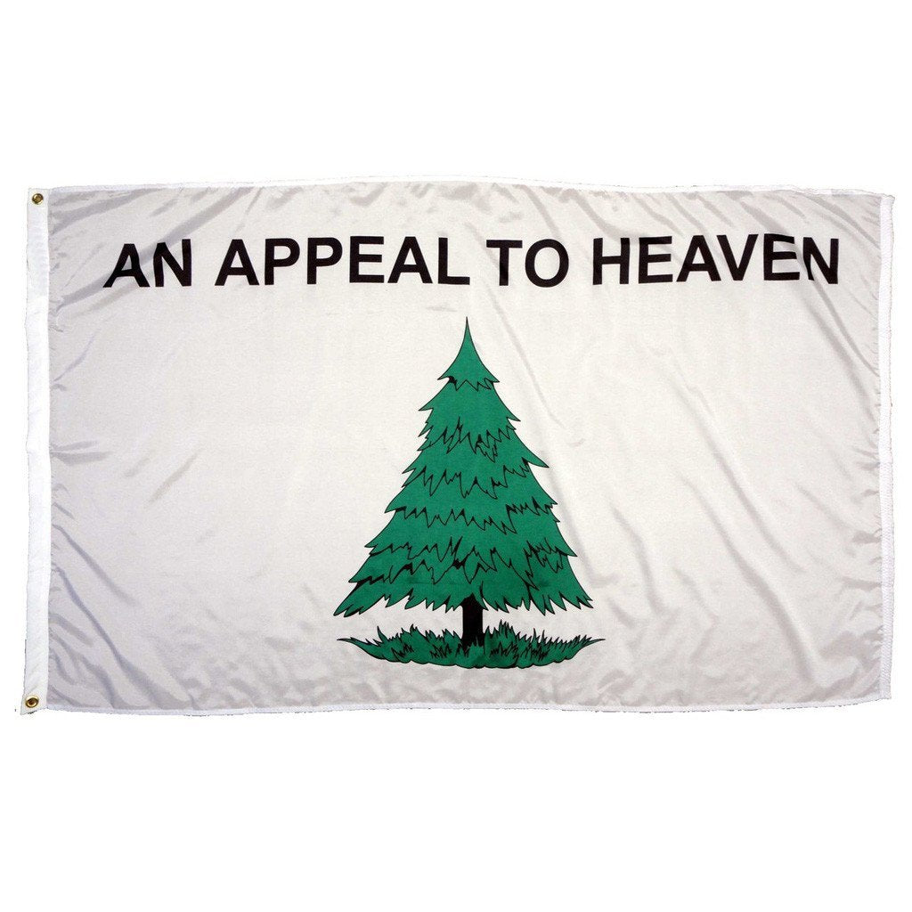 3 x 5 Ft Double-Sided An Appeal to Heaven Super-Poly Flag