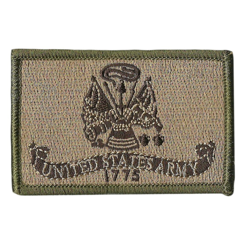 """USA MADE! ARMY Embroidered Tactical Morale 2/""""x3/"""" Patch with Border.24 HR SHIP"""