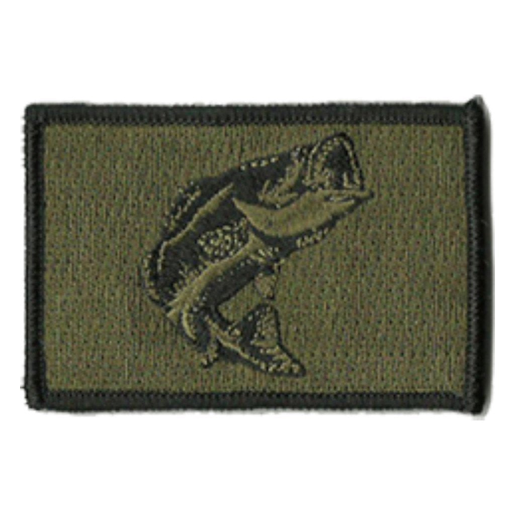 "2""x3"" Largemouth Tactical Patch"