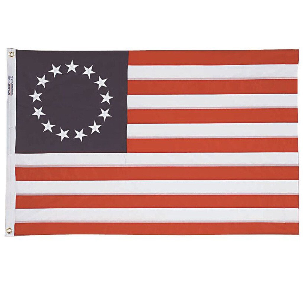 4x6 ft Betsy Ross Embroidered Nylon - Annin Co.