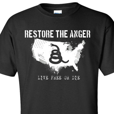 Black Restore the Anger T-Shirt