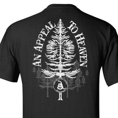 Black - An Appeal to Heaven T-Shirt