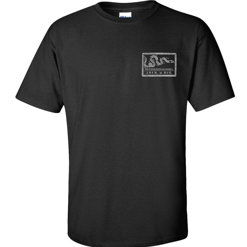 Black Join or Die T-Shirt