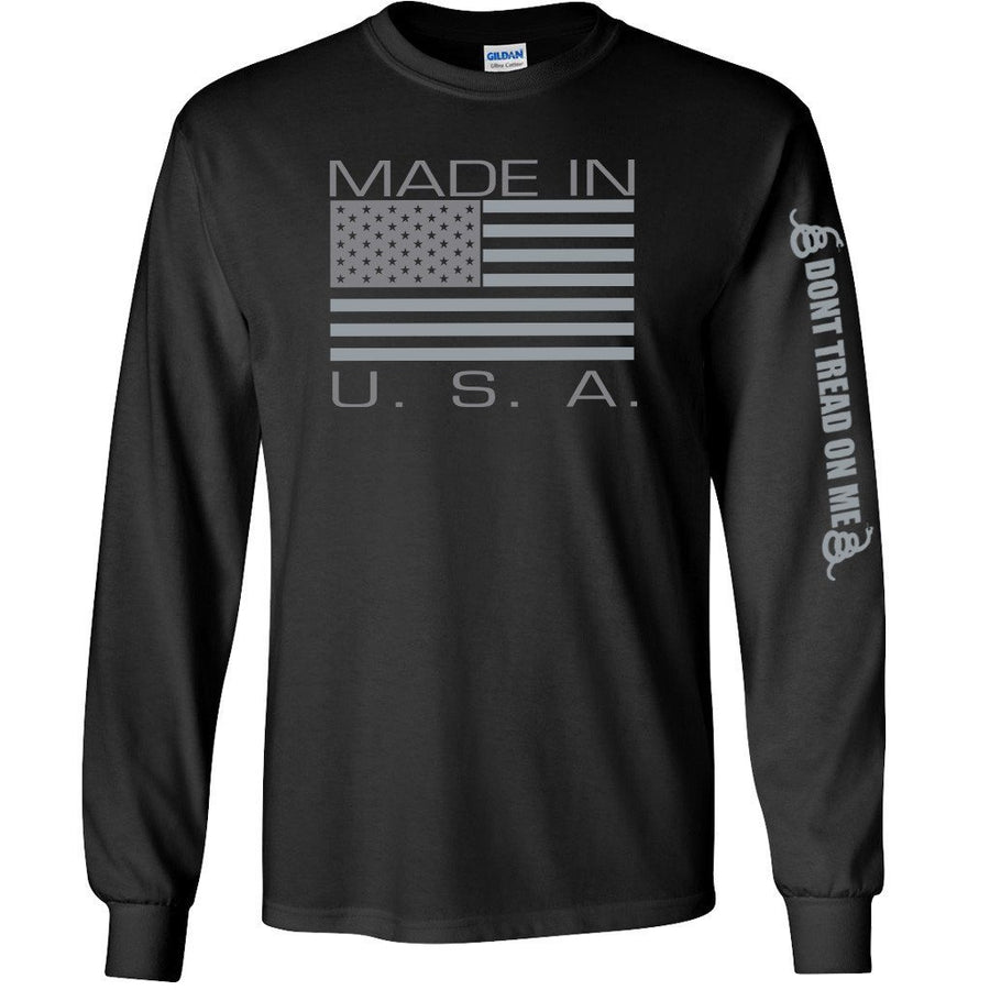 Made in USA Longsleeve - Black