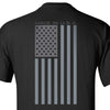 Made in USA Black T-Shirt - Back Printed