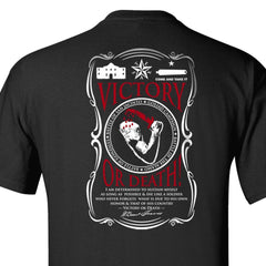 "Alamo ""Victory or Death"" T-Shirt - Black"