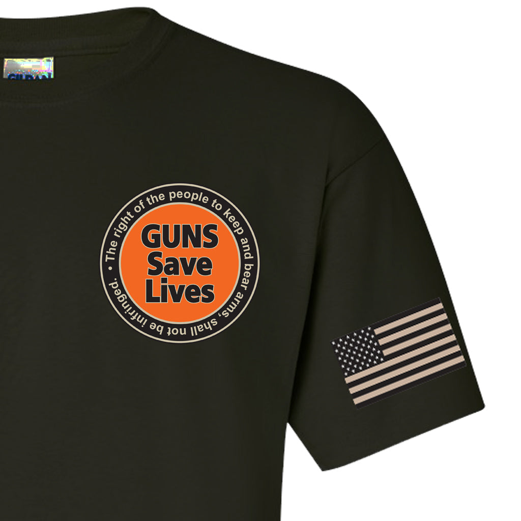 Black Guns Save Lives T-Shirt