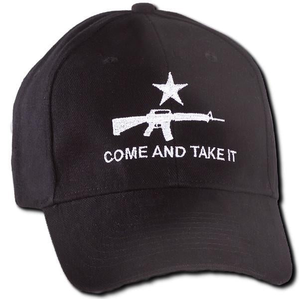 Black Come and Take It Hat