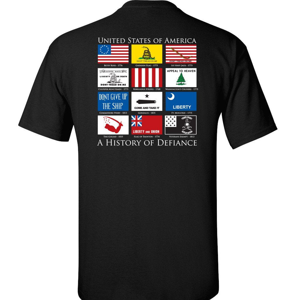 History of Defiance T-Shirt - Black