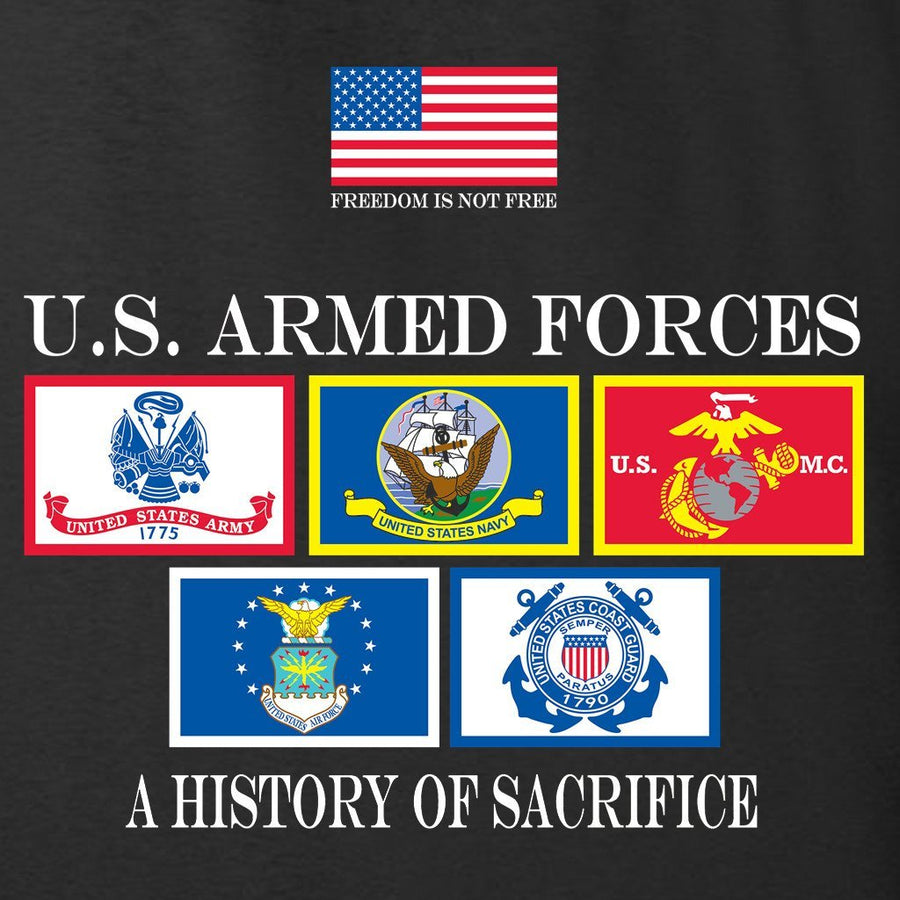 History of Sacrifice Black T-Shirt