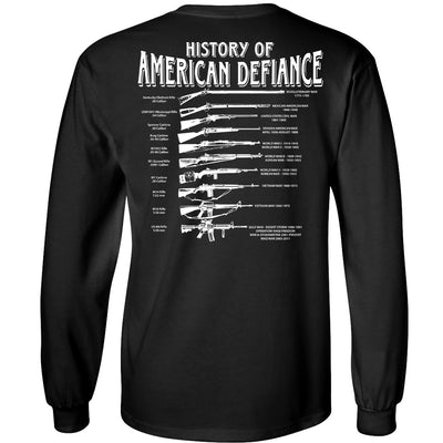 Historical Rifle Black Long sleeve T
